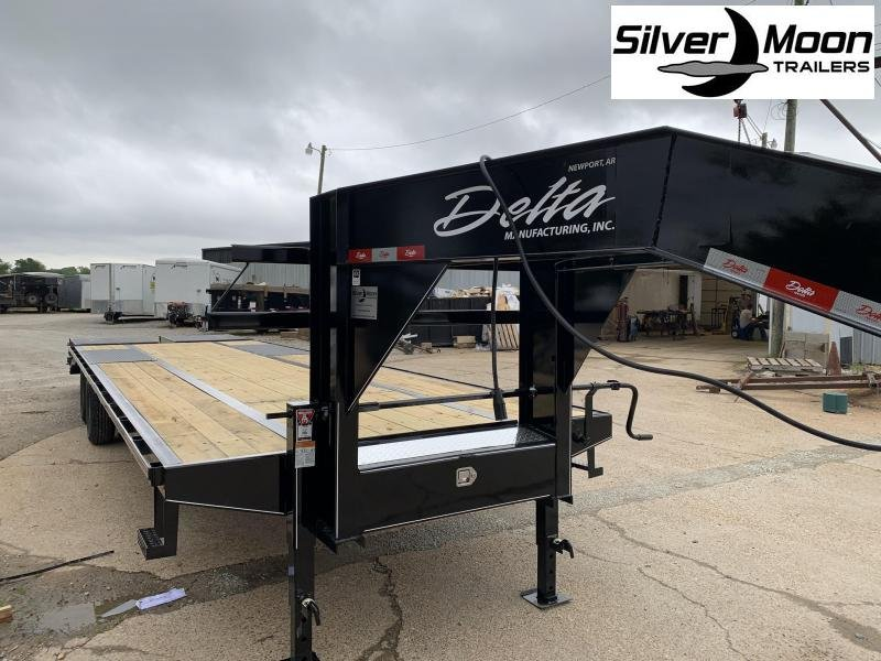 2020 Delta Manufacturing 210GN Flatbed Trailer 25+5