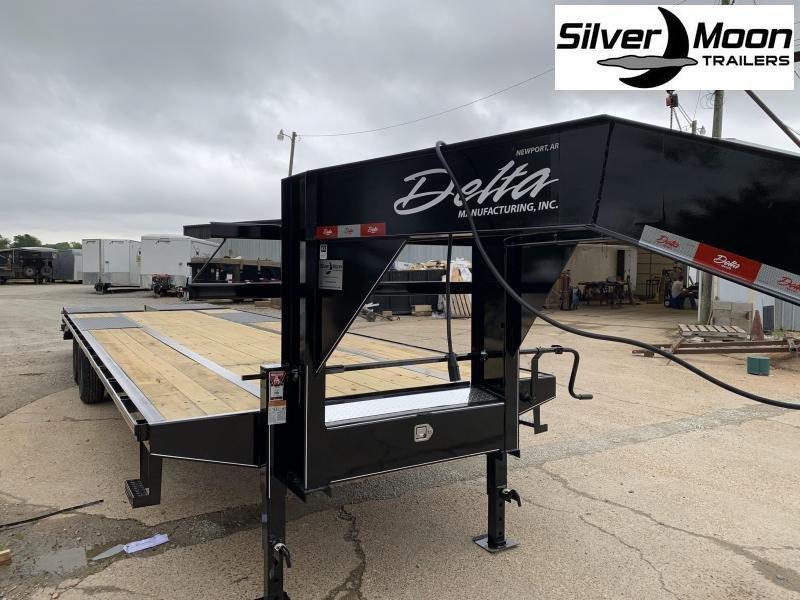 2021 Delta Manufacturing 210GN Flatbed Trailer 25+5