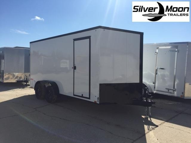 2021 Pace American 7x16 White/Blackout Cargo Trailer For Sale
