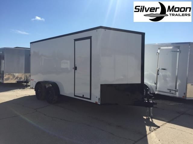 2022 Pace American 7x16 White/Blackout Cargo Trailer For Sale