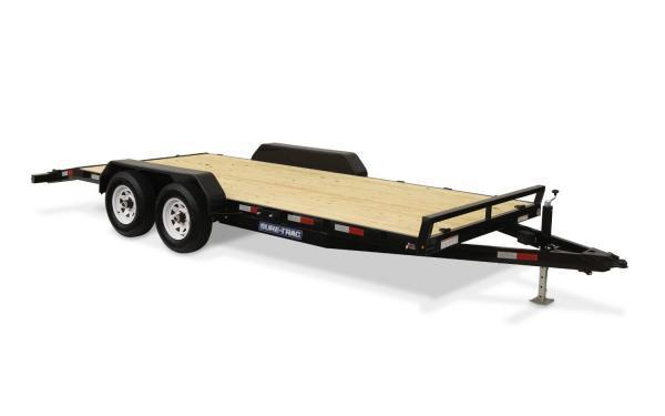 "2021 Sure-Trac 83"" x 20' 10K Wood Deck Car Hauler"