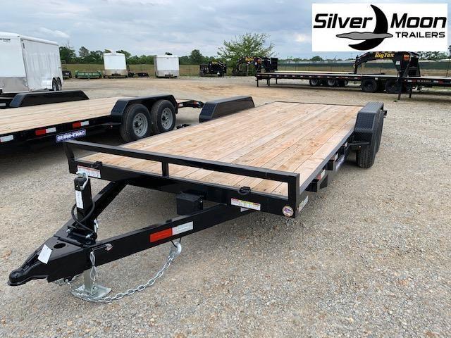 """2021 Sure-Trac 83"""" x 20' 10K Wood Deck Car Hauler"""