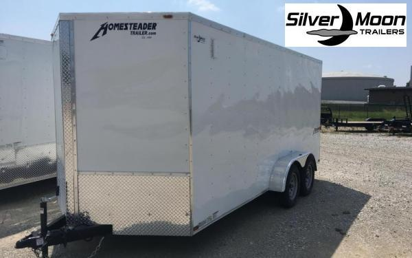 2021 Homesteader 7 x 14 TA Enclosed Cargo Trailer For Sale