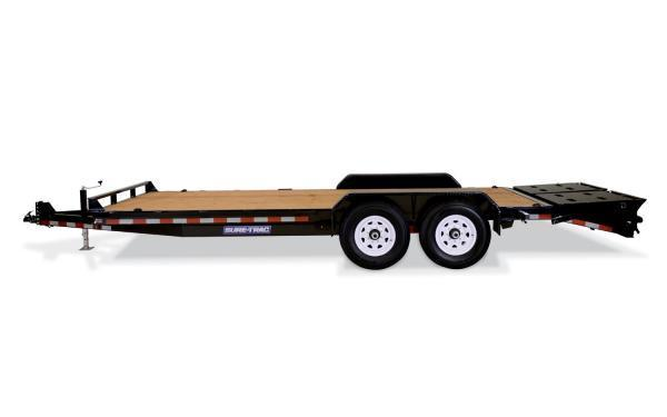 2021 Sure-Trac 17' + 3 14K Universal Ramp Implement Trailer