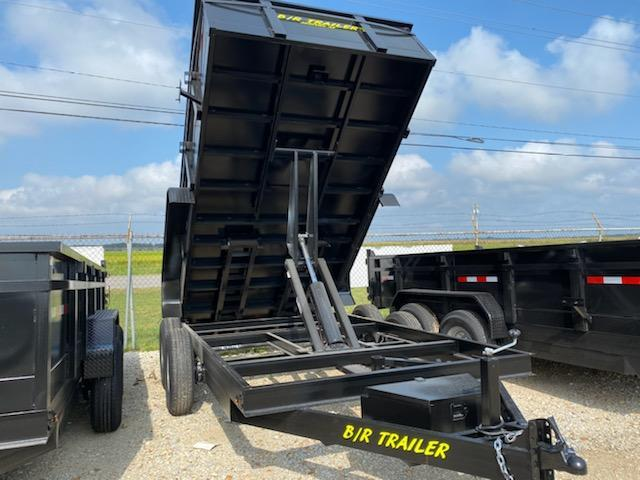 2021 B/R Trailer 14K 7x14 Dump Trailer