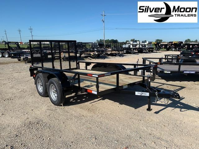 "2021 Wicked 76""x 12' Tandem Axle Utility Trailer"