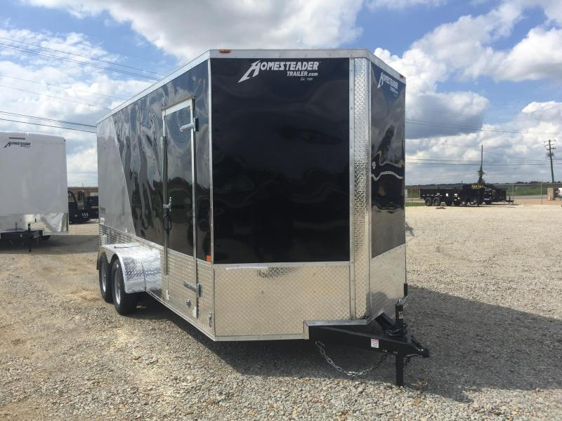2021 Homesteader 7x16 OHV Tandem Axle Cargo Trailer For Sale