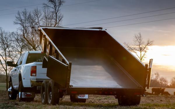 """2020 Big Tex Trailers 14LP 83"""" x 14 14K Low Profile Dump Trailer 4' Sides"""