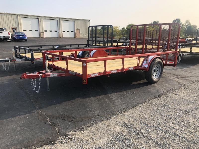 7x12 Utility Trailer w/ Rear Gate