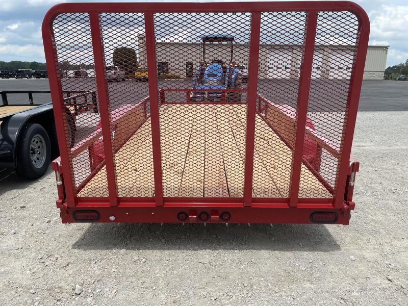 6x16 Tandem Axle Utility w/ Rear Gate