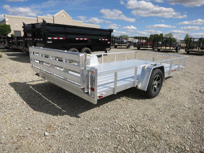 Sport Haven 7x14 Aluminum Utility Trailer w/ Bi-fold Gate
