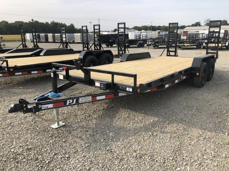 PJ Trailers 18' Flatbed