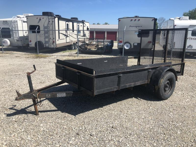 Used 5X10 Single Axle Utility trailer