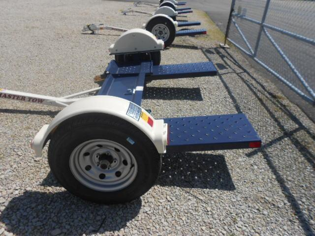 Master Tow Dolly- 80THDEB - Tow Dolly with Electric Brakes - Radial Tires - Car Hauler - Tie Down Straps