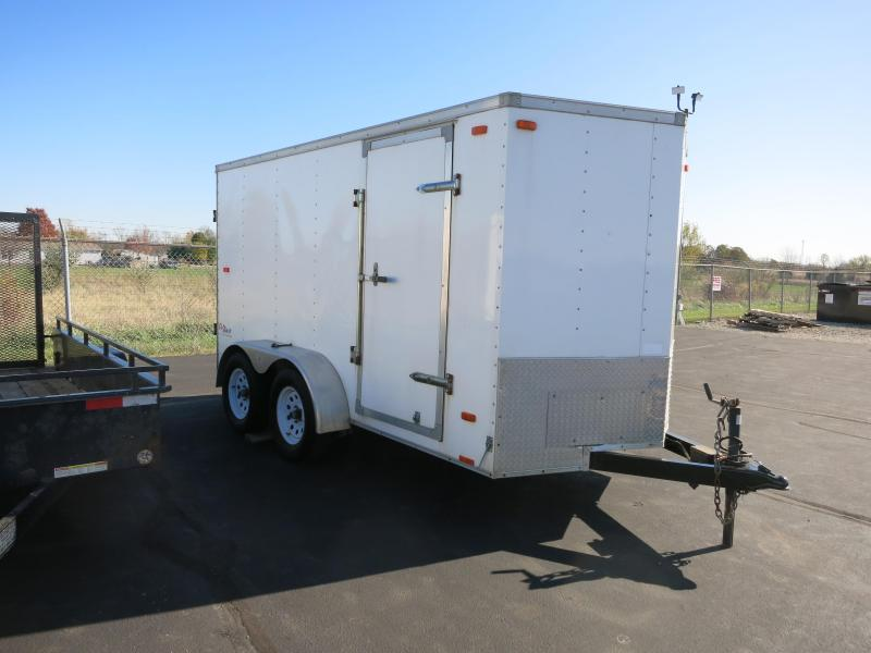 Used 6x12 Enclosed Trailer