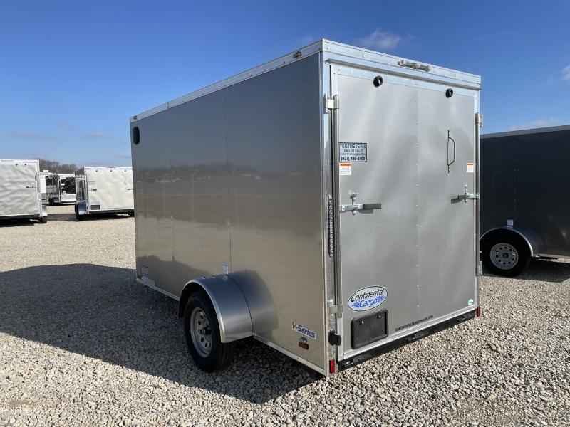 Continental Cargo 6X12 Enclosed Trailers W/ Ramp Door - LED - Dome Light
