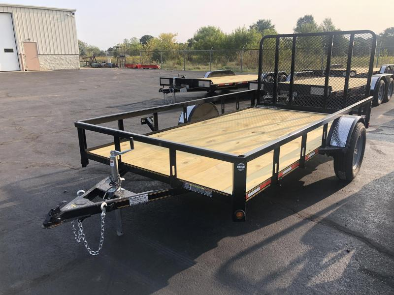 6x12 Utility Trailer w/ Rear Gate