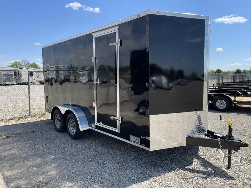 Continental Cargo Trailers 7X16 Enclosed Trailer W/ Ramp Door