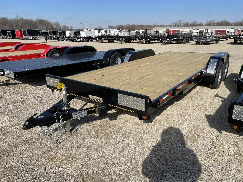 7x20  Car Hauler Tandem Axle w/ Ramps