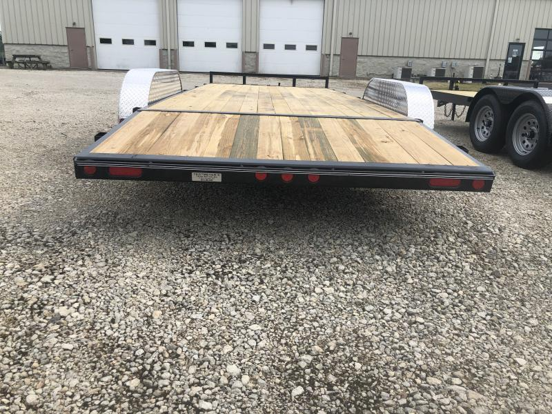 PJ Trailers 20' Car Trailer w/ Ramps - 7000 GVW