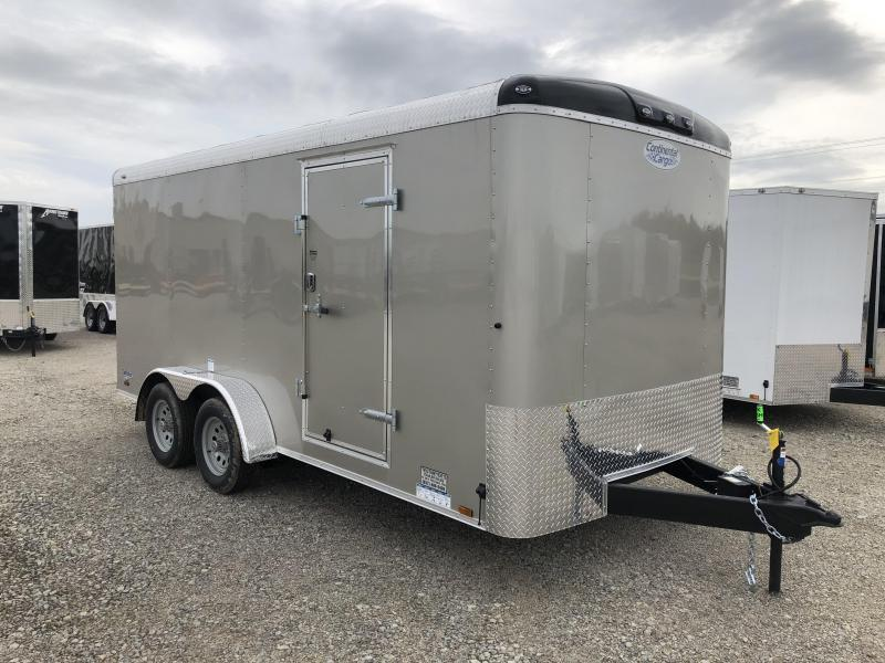 Continental Cargo Trailers 7X16 Enclosed Trailer W/ Ramp Door
