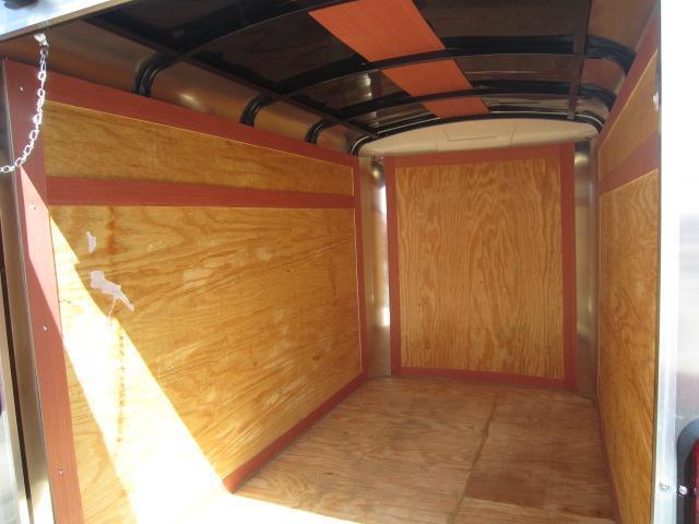 Homesteader 5x10 Single Axle Enclosed w/ Single Rear Door