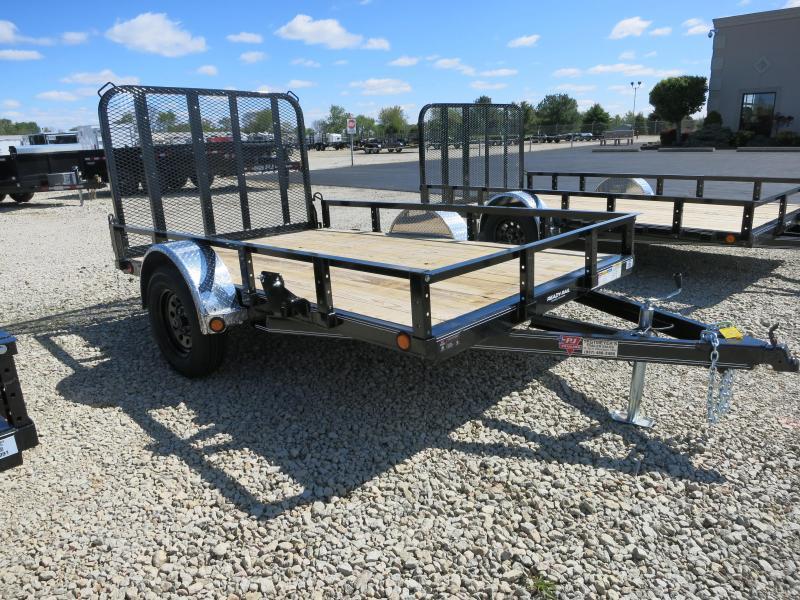 PJ Trailers 6x10 Utility Trailers w/ Gate - Single Axle 2995 GVW