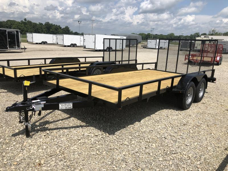 7x16 Utility Trailers w/ Rear Gate