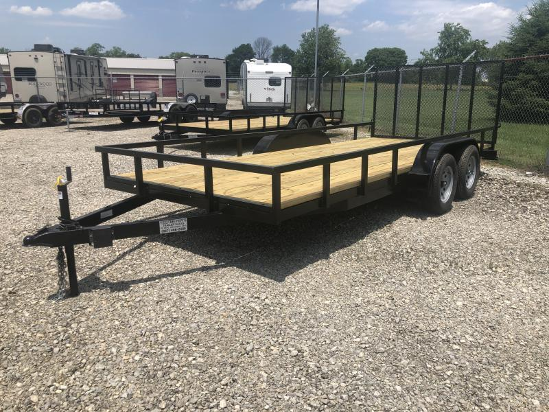7x18 Utility Trailer w/ gate