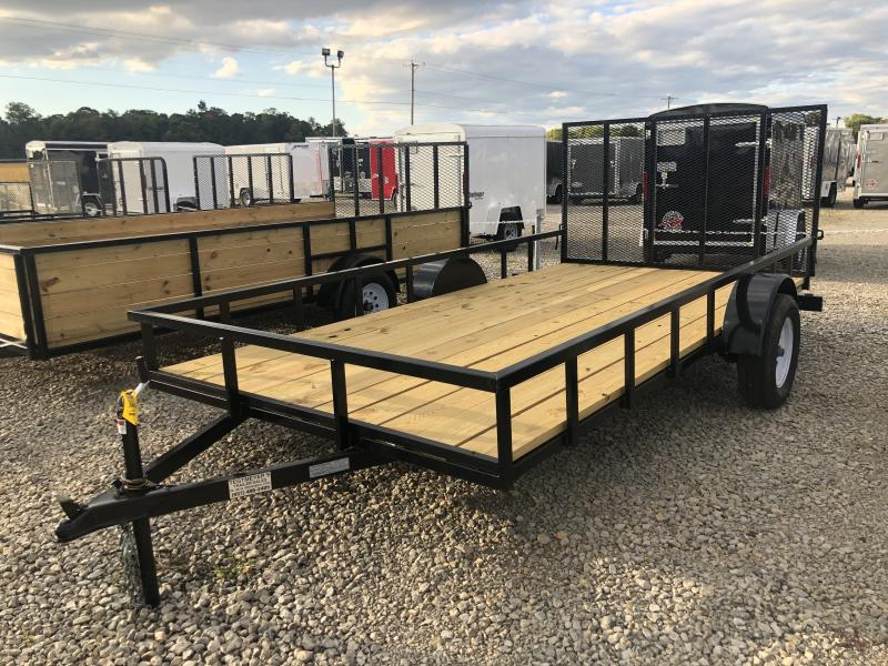 7x14 Utility Trailer w/ gate