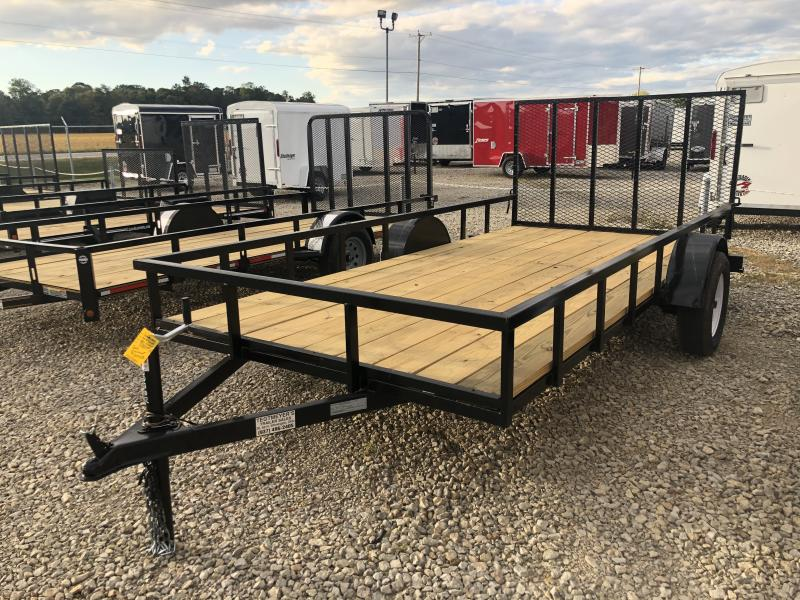 6x14 Utility Trailer w/ gate