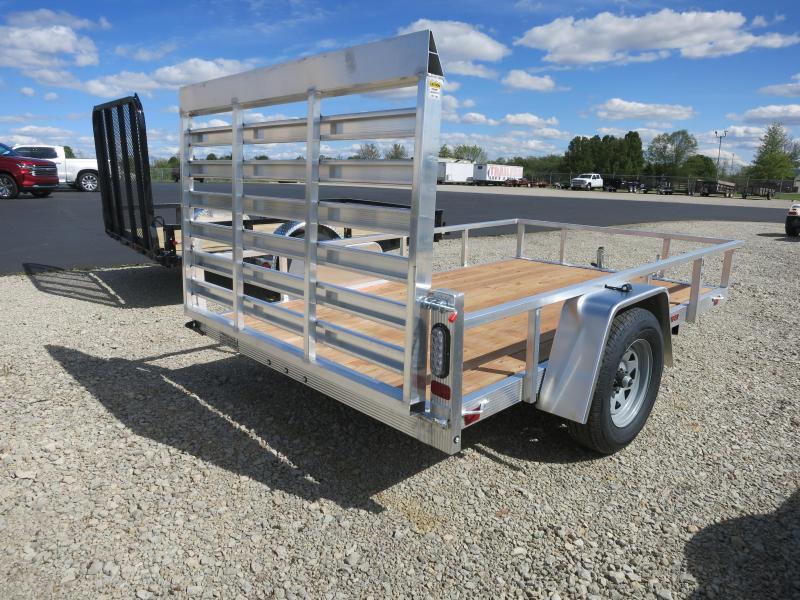 Sport Haven 6x10 Aluminum Utility Trailer w/ Gate