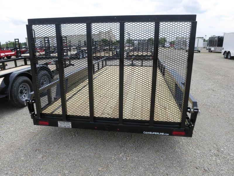 Cam Superline Trailers  7x18 Utility w/ gate