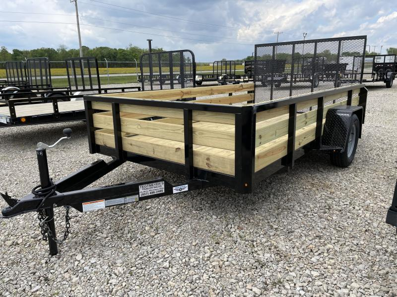 6x12 Utility Trailers w/ Rear Gate