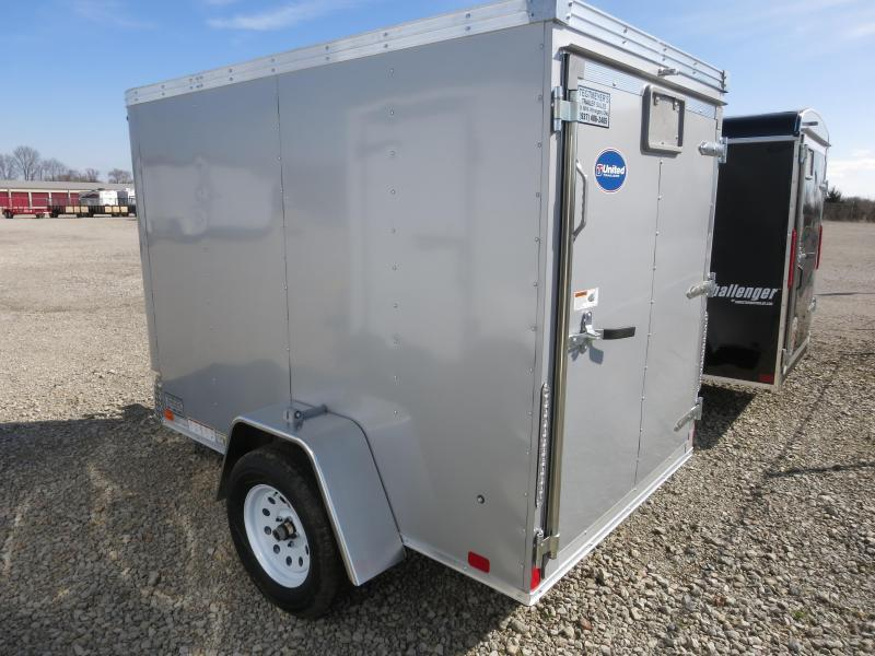 United Trailers 5x8 Enclosed Trailer