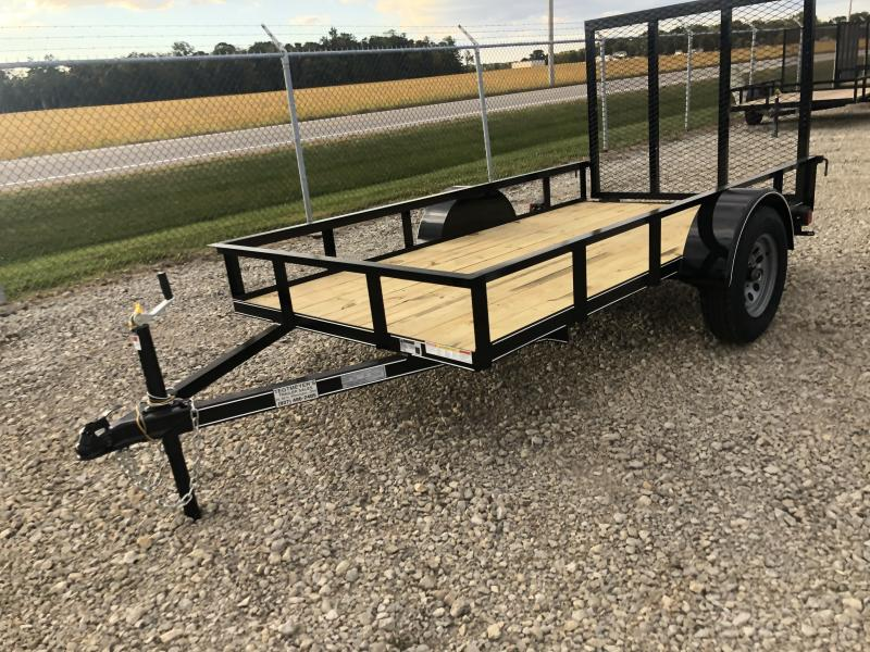 Lone Wolf Trailers 5x10 Utility Trailer w/ Rear Gate