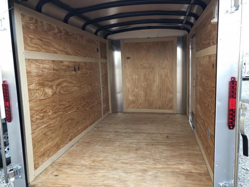 Homesteader Trailers 6x10 Enclosed Trailer w/ Ramp Door - Side Door