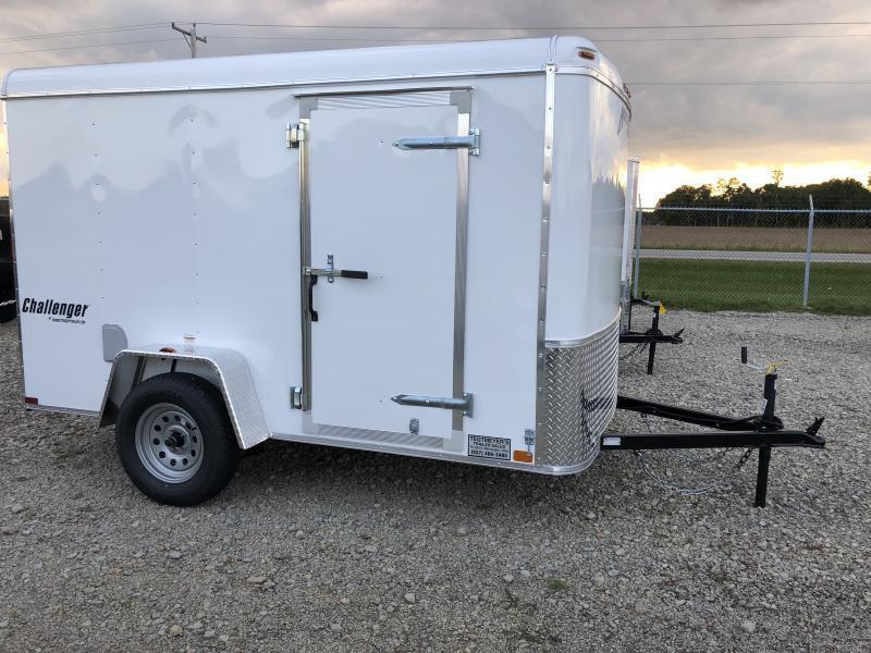 Homesteader Trailers 6x10 Enclosed Trailer w/ Ramp Door - Side Door