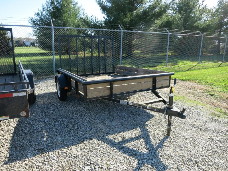 Used 6x8 Single Axle Utility Trailer