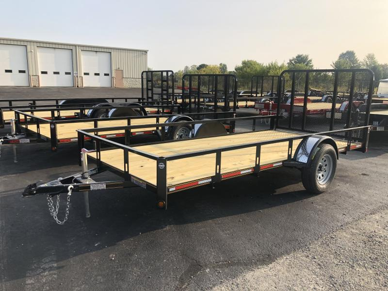 7x14 Utility Trailer w/ Rear Gate