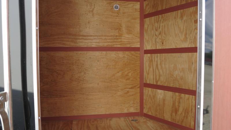 Homesteader Trailers 7x14 Enclosed Trailer w/ Ramp Door - Side Wall Vents - D Rings - Side Door