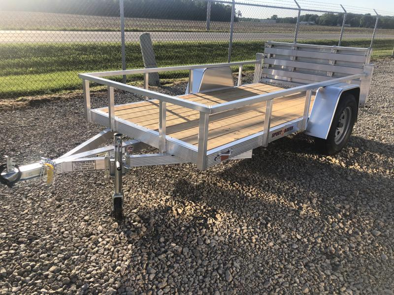 Sport Haven 5x10 Aluminum Utility Trailer w/ Gate