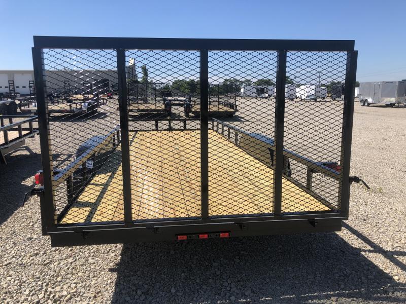 Lone Wolf Trailers 7x20 Tandem Axle Utility w/ Rear Gate