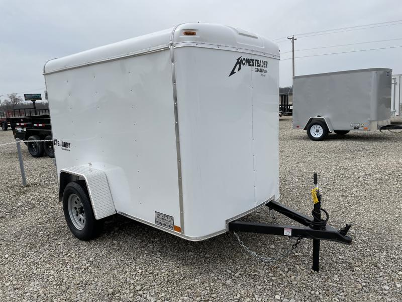 Homesteader Trailers 5x8 Enclosed with Single Rear Door
