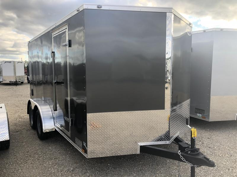 Continental Cargo 7X14 Enclosed Trailers W/ Ramp Door - LED - Dome Light