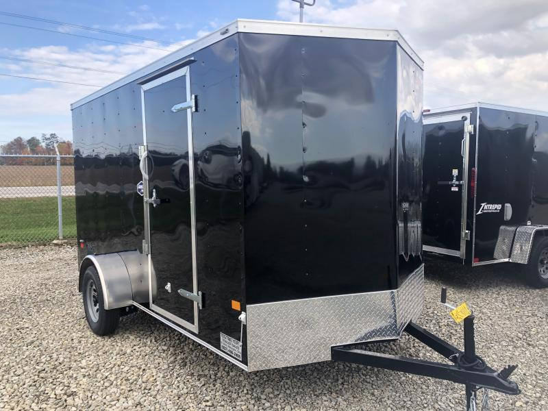 American Hauler 6X12 Enclosed Trailers W/ Ramp Door - LED - Dome Light