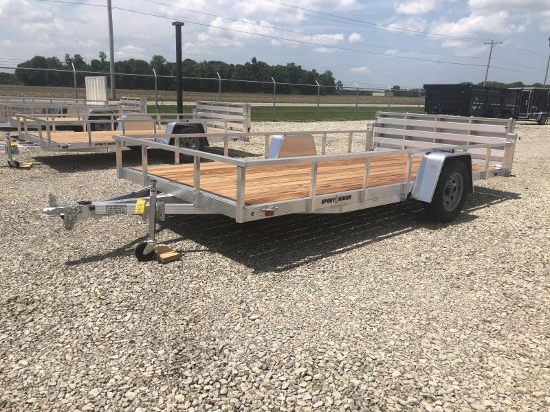Sport Haven 7x14 Aluminum Utility Trailer w/ Gate