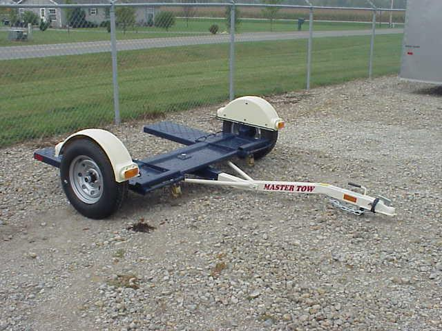 Master Tow - 80THD Heavy Duty Tow Dolly - No Brakes - Radial Tires - Car Hauler - Tie Down Straps