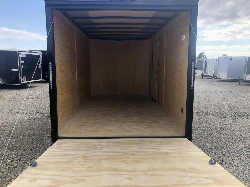 Continental Cargo 7X16 Enclosed Trailers W/ Ramp Door - LED - Dome Light