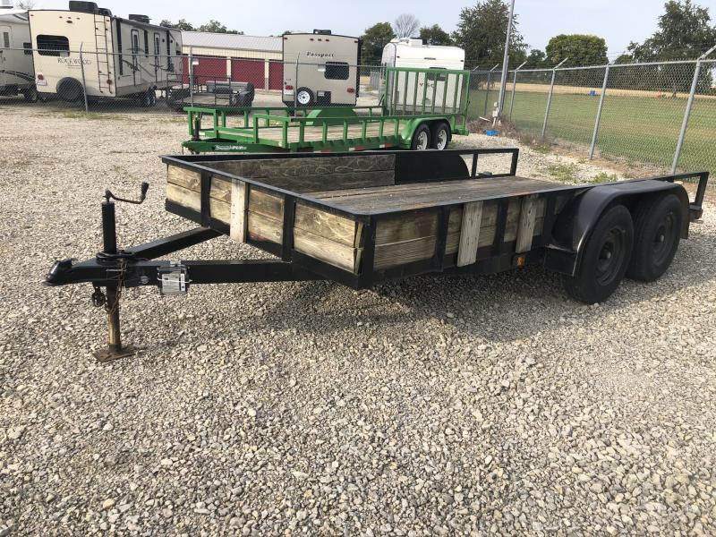 Used 6x14 Tandem Axle Utility Trailer